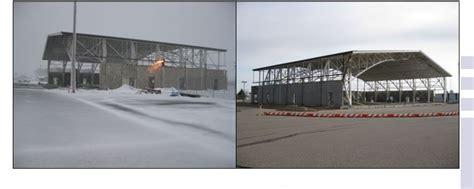 hangar  chippewa county airport schweiss