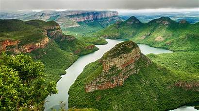 Blyde Canyon River Africa South Places Window