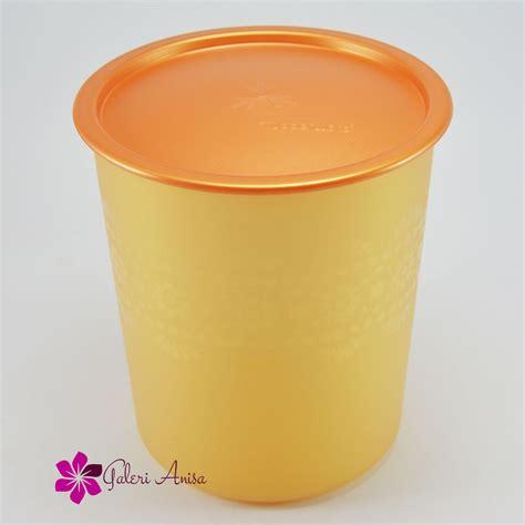 medium mosaic canister tupperware katalog promo tupperware