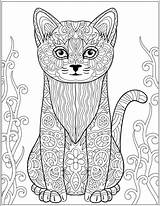 Stress Coloring Printable Relieving Pages Adult Cat Cats Patterns Colouring Designs Dogs Zentangles Afkomstig Van Etsy Kleurplaten Getcolorings Getdrawings sketch template