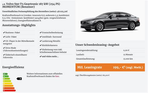 12 monate leasing volvo s90 leasing f 252 r 199 im monat netto nur 15 st 252 ck 12 monate inkl wartung