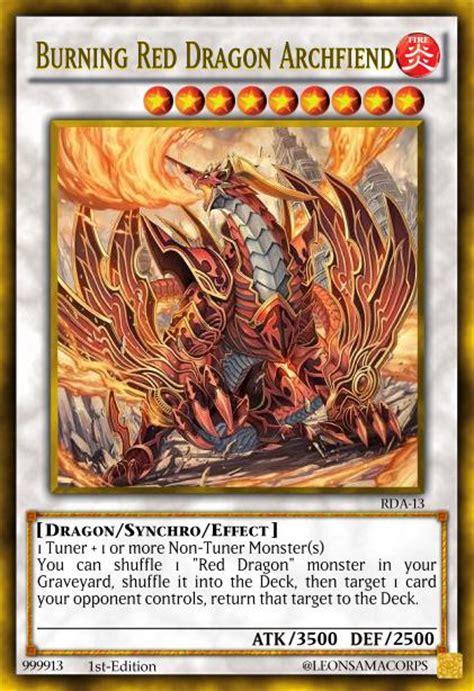 burning red dragon archfiend by sauleon on deviantart