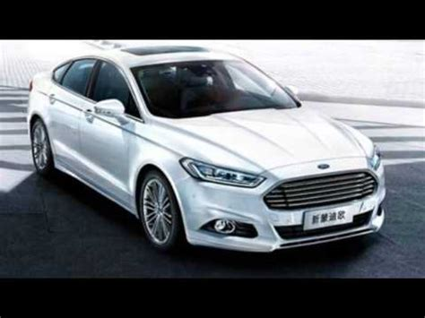 2015 Ford Mondeo Facelift Youtube