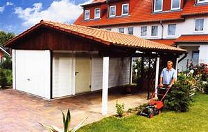 Garage Carport Kombination : satteldach garagen satteldachgaragen ~ Markanthonyermac.com Haus und Dekorationen