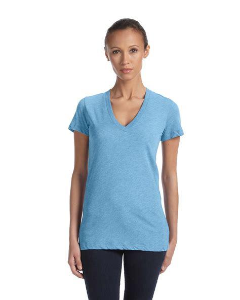 bellacanvas  womens triblend  neck tee shirtmax