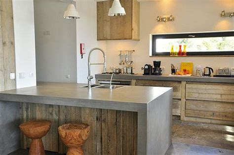 diseno de cocinas de cemento decoracion de cocinas de