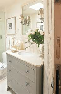 Gray Bathrooms with Vanities
