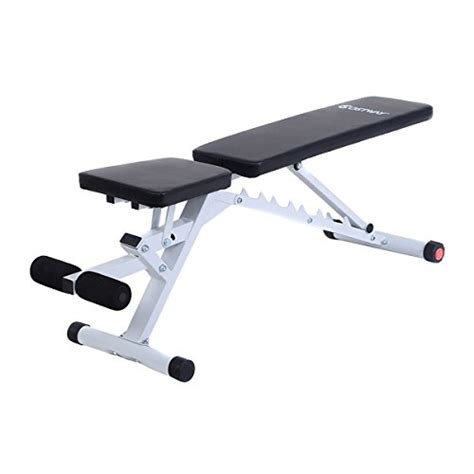 Incline Ab Bench by Goplus Standard Incline Sit Up Bench Flat Ab Board