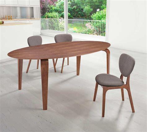 walnut dining bench oval walnut dining table z099 modern dining 3338