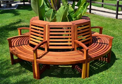 tree with bench wood tree bench pdf woodworking