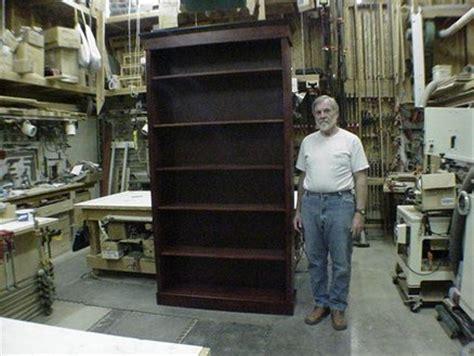 8 foot tall bookcase 8 foot walnut bookcase by a1jim lumberjocks com