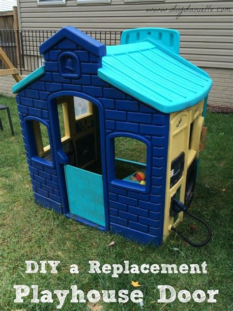 How To Make A Spare Door For A Plastic Playhouse Plastic