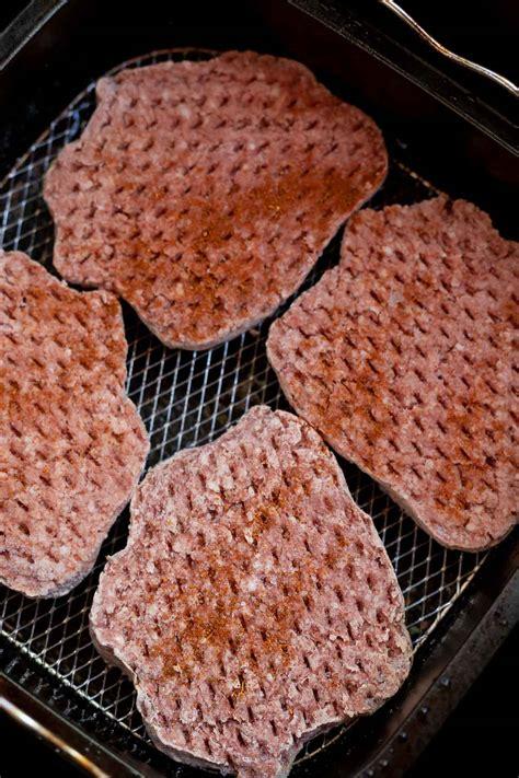 fryer frozen air burgers cook hamburger recipes hamburgers burger fried tastyairfryerrecipes patties drive fast raw recipe restaurant yes making basket
