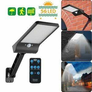 Wandleuchte Mit Fernbedienung : 56 led solar lampe bewegungsmelder outdoor street ~ A.2002-acura-tl-radio.info Haus und Dekorationen