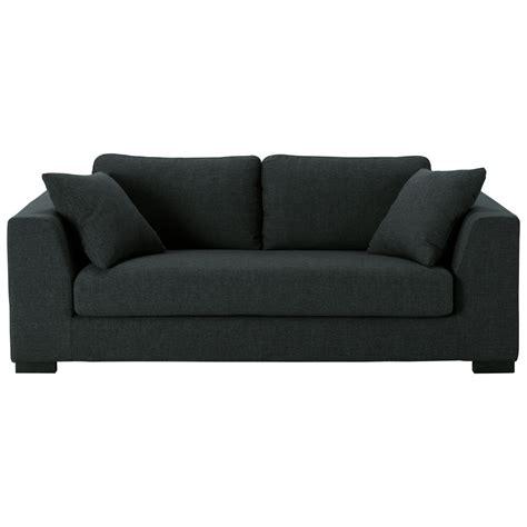 canapé payable en 10 fois sans frais canapé 2 3 places en tissu anthracite terence maisons du