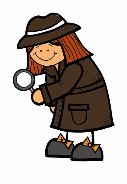 Clip Clipart Mystery Spy Creative Cliparts Detective