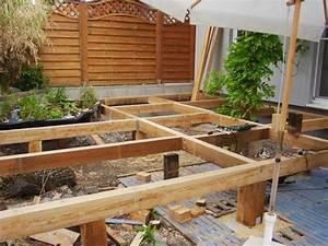 Bau Einer Holzterrasse : unterbau terrasse wpc holzterrasse bauanleitung unterbau einer wpc terrasse terrasse unterbau ~ Sanjose-hotels-ca.com Haus und Dekorationen