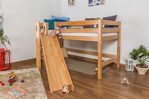 Kinderbett Rutsche : steiner shopping kinderbett mit rutsche aus buchenholz ~ Pilothousefishingboats.com Haus und Dekorationen