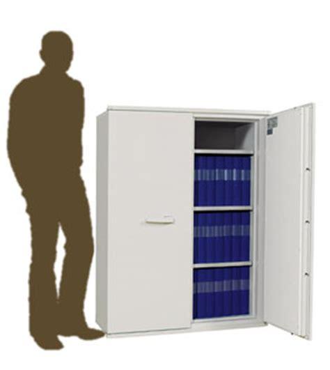 armoire ignifuge papier basse 2 avec portes mod 232 le sa 390