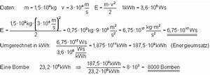 Geschwindigkeit Von Elektronen Berechnen : oberstufenphysik messen und berechnen von energie ~ Themetempest.com Abrechnung