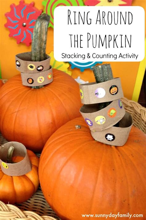 ring   pumpkin stacking counting activity
