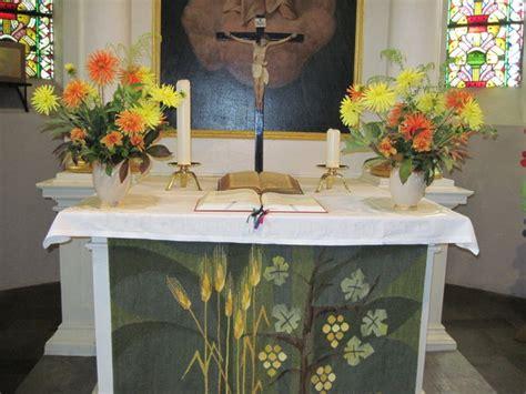 blumenschmuck  der ev luth st antonius kirche