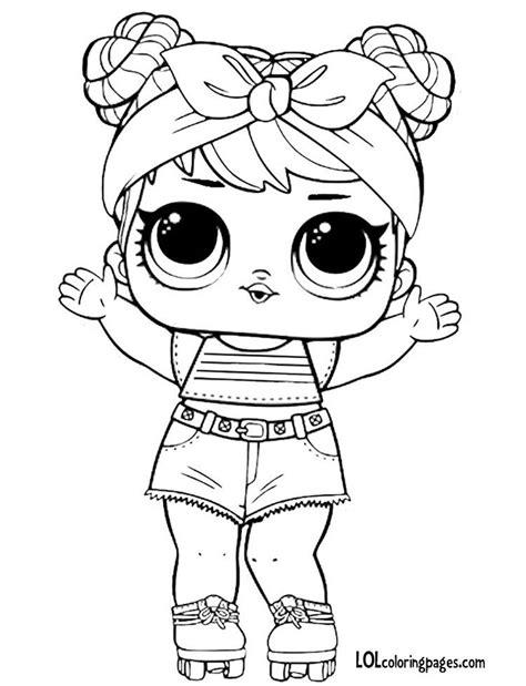 dawn series  lol doll coloring page cricut explore