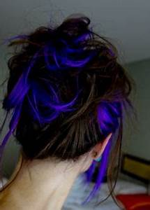 1000 ideas about Neon Hair Highlights on Pinterest