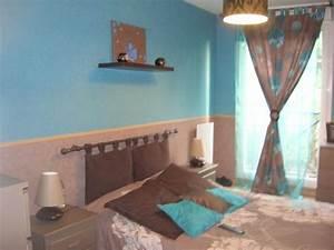 Deco Chambre Bleu Et Marron. chambre turquoise et marron solutions ...