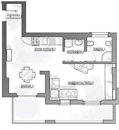 stante 3d casa 44 mq una stanza in pi 249 in casa cose di casa