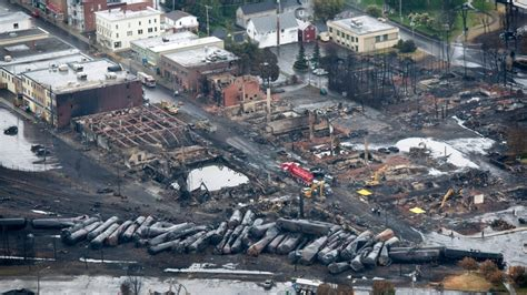 The Lac Megantic Rail Disaster In Quebec The Driver Did