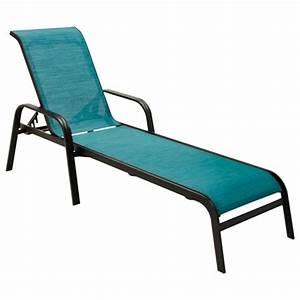 Chaise Longue Piscine : san andres lounge chair noir turquoise ~ Preciouscoupons.com Idées de Décoration