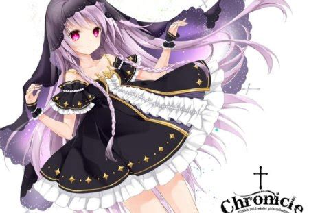purple witch  anime background wallpapers