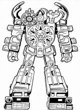 Coloring Robots Node sketch template