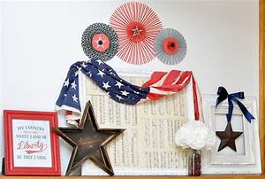 Five 4th Of July Mantel Decorations That Will Make You