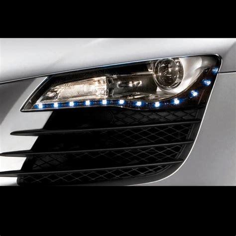 light strips for trucks led headlight strips blue car truck kit 2 bright led