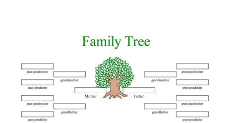 Family Tree Template Family Tree Templates 4 Generations Family Tree Template Family Tree Templates 4 Generations