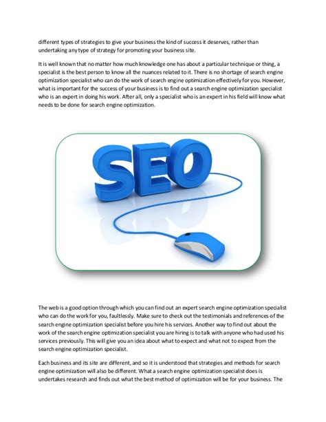 Search Engine Specialist by Search Engine Optimization Specialist