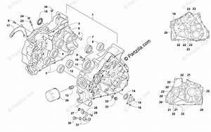 Arctic Cat Atv 2012 Oem Parts Diagram For Crankcase