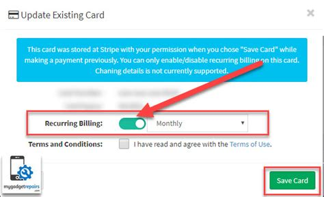 To learn how to cancel a recurring credit card payment, scroll. How to cancel recurring payment/automatic payment?   MGR   Knowledge Base