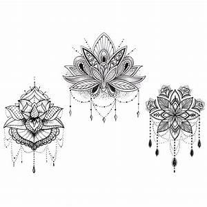 Dessin Fleurs De Lotus : tatouage fleur de lotus dessin kolorisse developpement ~ Dode.kayakingforconservation.com Idées de Décoration