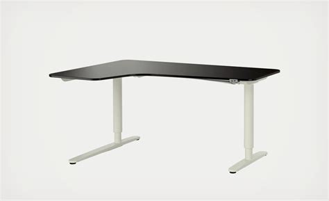 ikea sit and stand desk the ikea bekant sit stand desk adjusts with the press of a
