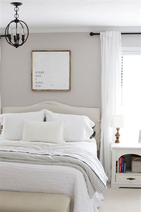 farmhouse master bedroom modern farmhouse master bedroom reveal miss in the midwest Modern