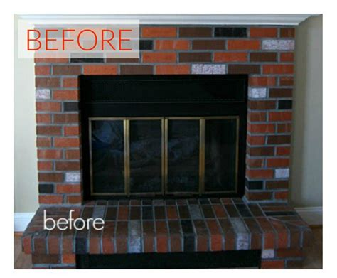 Living Room Makeovers 2016 by 10 Gorgeous Ways To Transform A Brick Fireplace Without