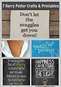 7 Harry Potter Craft Ideas & Printables - EverythingEtsy com