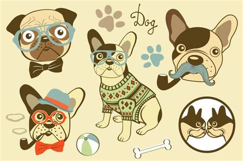 dogs  olillia  atcreativemarket dizayn