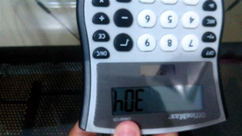 Funnywords For A Calculator Youtube