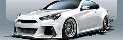 Hyundai Genesis Horsepower by Track Ready Hyundai Genesis Coupe Has 500 Horsepower Engine