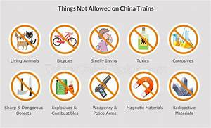 China Train Baggage Allowance D G Bullet Trains Luggage