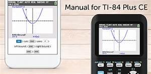 Ti-84 Ce Graphing Calculator Manual Ti 84